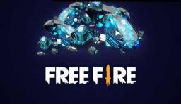 Diamantes no Free fire