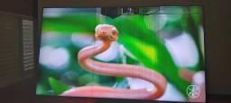 TV qled 65 polegadas tela quebrada com one conect