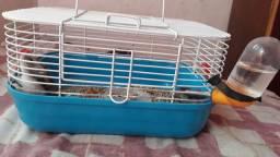 Gaiola de pequeno tamanho para hamsters