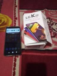 LG k22 8 dias de comprado
