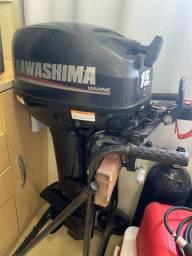 Motor poupa Kawashima 15 HP.
