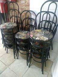 Torro lote de 10 cadeiras R$ 60 cada