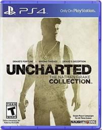 Vendo Uncharted, PES 2019 e Batman Arkhan Night  para PS4