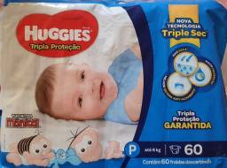 Fralda huggies P