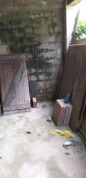 Portao de madeira em IPE