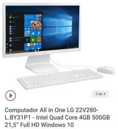 Vendo computador All In One Top
