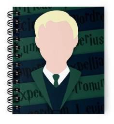 Caderno Draco Malfoy Harry Potter - O caderninho