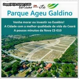 Título do anúncio: Investimento top :: Loteamento Parque Ageu Galdino no Eusébio::