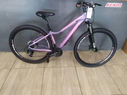 Bike 29  feminina T.15-17, disco, câmbio Shimano, elleven, Ksw, south