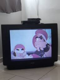 TV tubo 29 e conversor novo