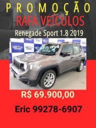 Renegade 1.8 sport Automático 2019 R$ 69.900,00 Eric Rafa Veículos -tttq98