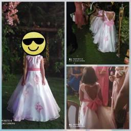 Maravilhoso vestido infantil de festa!!!!