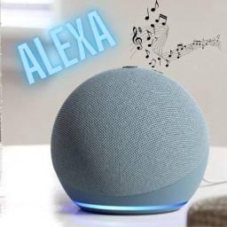 Título do anúncio: Alexa - Echo Dot 4 -  Transforme sua casa inteligente