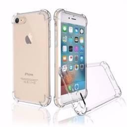 Capinha Iphone Anti Impacto Transparente (Todos os modelos de Iphone)