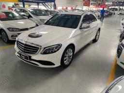 Título do anúncio: Mercedes 2018/2019 C180 Exclusive 626KM Zera Completíssima Impecável