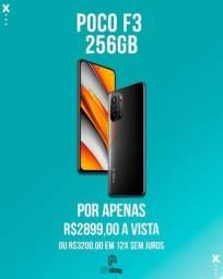 Título do anúncio:  Xiaomi Poco F3 256Gb 8gb ram lacrado (ac.cartão)