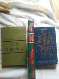 Título do anúncio: 3 livros filosofia