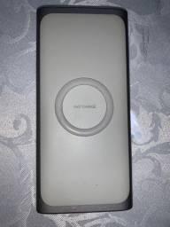 Vendo carregador portátil Samsung original FAST CHARGE
