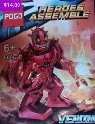 Título do anúncio: Venom blocos de montar Similar aos lego