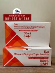 Título do anúncio: Máscara Eva tripla caixa com 50 unidades *