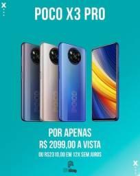 Título do anúncio: Xiaomi Poco X3 pro 256gb 8gb ram lacrado (Ac.cartão)