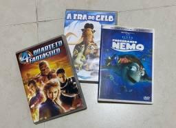 Título do anúncio: 3 dvds