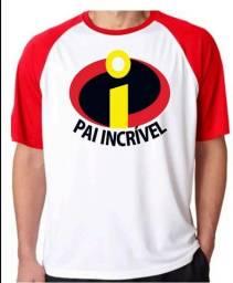 Camisa Personaliza Dia dos Pais