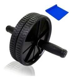 Título do anúncio: Roda Abdominal Ab Wheel Exercícios Fitness Crossfit Intenso + Tapete Grátis