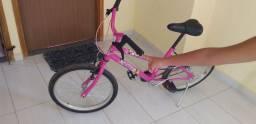 Bicicleta semi nova sem marca de uso