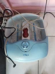 Bacia elétrica para pés hidromassagem