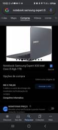 Notebook Samsung EXPERT X30 INTEL CORE 15 8GB 1TB -6 MESES DE USO-