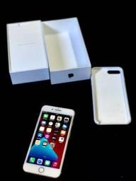 IPhone 7 Plus 32gb gold, impecável na caixa