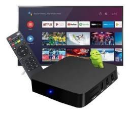 Título do anúncio: TV BOX MXQ PRO 128GB DE MEMORIA
