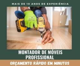 Montador profissional de móveis
