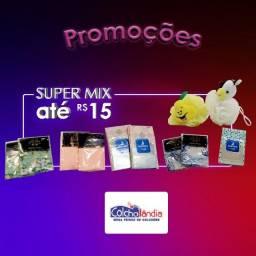 Mix de produtos até R$15,00