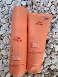 Título do anúncio: Kit Shampoo 250ml + Condicionador 200ml Invigo Nutri-Enrich Wella