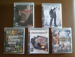 Jogos Originais Do Playstation 3 (Apenas Venda)