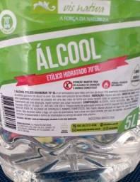 Alcool 70% e Alcool em Gel Galão