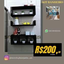 Título do anúncio: Kit em Mdf PA Banheiro Leia o anúncio