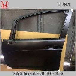 Porta Honda Fit 2004 2008 2009 2014 2015 2020 Diant Tras