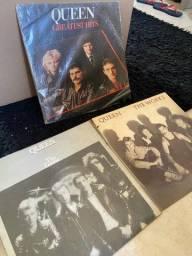 Discos de vinil lp banda Queen - vendo juntos ou avulso.
