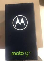 Moto G10 zero na caixa