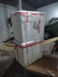Caixa de isopor nova