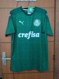 Camisa Palmeiras I 20/21 Masculina