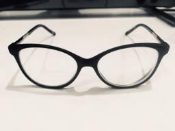 Armação óculos de grau gatinho - usado