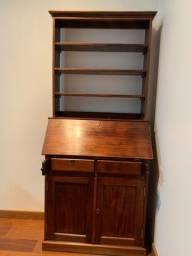 Título do anúncio: Escrivaninha, mesa, antiguidade, madeira, escritório