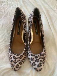 Sapato de oncinha cravo e canela
