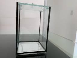 Mini aquario retangular