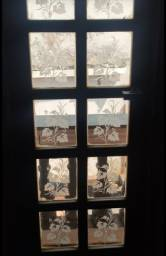 Título do anúncio: 4 Janelas com vidros jateados