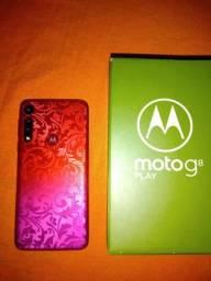 MotoG 8 Play bem conservado